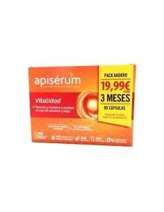 Apiserum Vitalidad 3 x 30 cápsulas