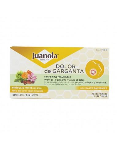 Juanola Dolor de Garganta Própolis Fuerte , 20 comprimidos