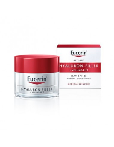 Eucerin Hyaluron-Filler + Volume Lift Crema de dia piel normal mixta, 50ml