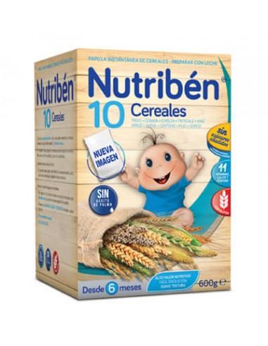 Nutribén 10 Cereales , 600 g
