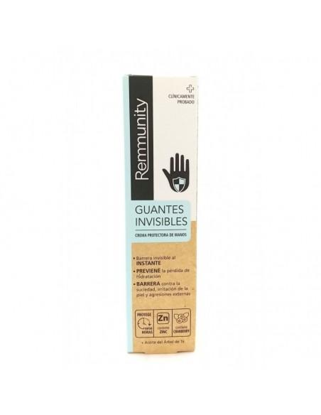 Remunity Guantes Invisibles Crema Protectora de Manos, 100 ml