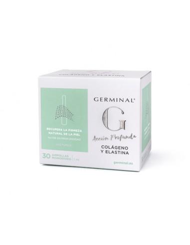 Germinal Acción Profunda Colágeno y Elastina, 30 ampollas x 1.5ml