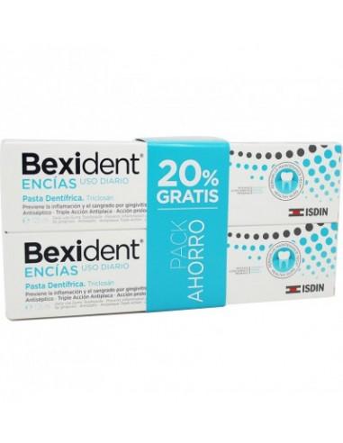 Bexident Encias Pasta Dentífrica Triclosan Mantenimiento 2x 125ml