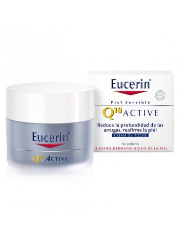 Eucerin Q10 Active Crema de Noche Cutis Sensible 50ml
