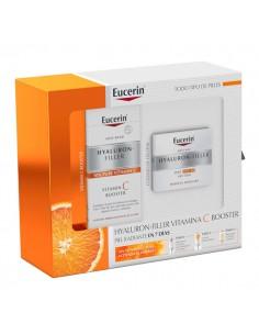 Eucerin PACK Hyaluron-Filler Crema de Día SPF30 50 ml + Eucerin Hyaluron-Filler Vitamin C Booster 8 ml