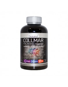 Collmar Colageno Marino hidrolizado + Magnesio + Acido Hialuronico 180 Comp