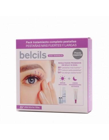 Pack Belcils Serum Anti- Caida 3 ml +  Crema Regeneradora Intensiva 4 ml