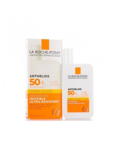 Pack La Roche Posay Anthelios Fluido Invisible SPF50+ 2 x 50 ml
