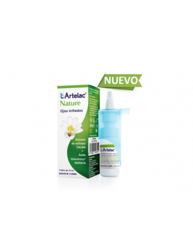 Artelac Nature Ojos Irritados Colirio 10 ml