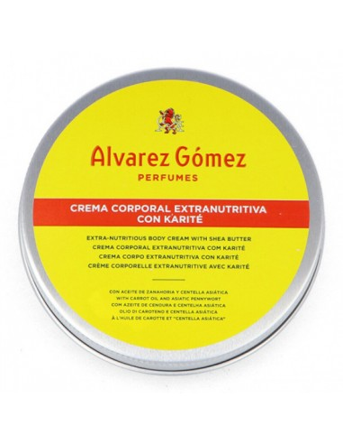 Alvarez Gómez Crema Corporal Extranutritiva 100 ml