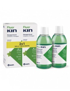 Fluor Kin Enjuague Bucal  Anticaries 2 x 500 ml