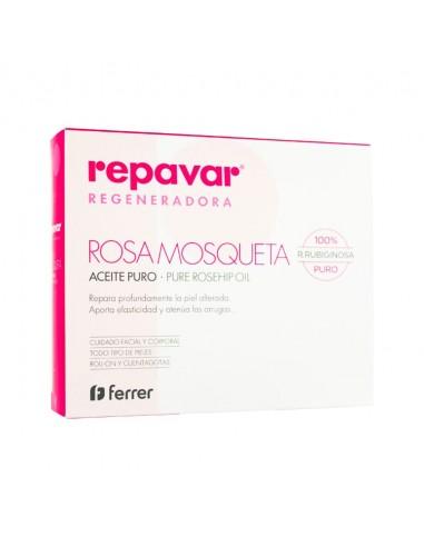 Repavar Regeneradora Aceite Puro de Rosa Mosqueta 15ml