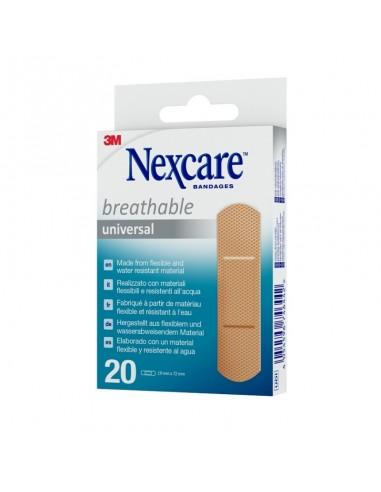 3M Nexcare Universal Apósito adhesivo 20 Ud 19x72mm