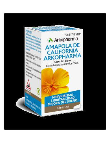 Arkopharma Amapola de California 84 Cápsulas