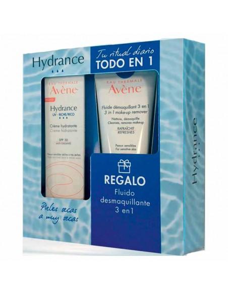 Avene Hydrance UV- Rica Crema Hidratante SPF30 40 ml + REGALO Fluido Desmaquillante 100 ml