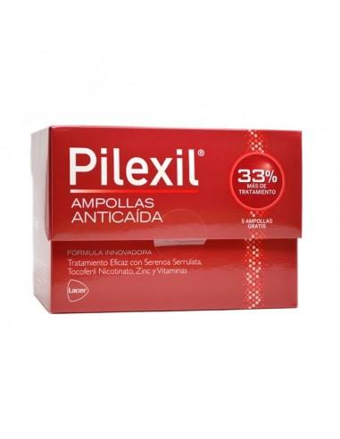 Pilexil Ampollas Anticaída 15 Ampollas + Regalo 5 Ampollas