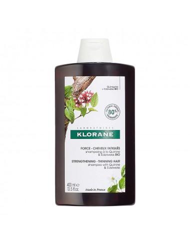 Klorane Champú a la Quinina + Edelweiss BIO 400 ml