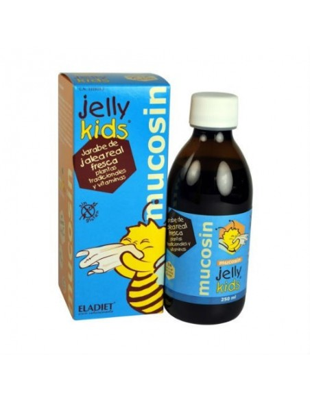 Jelly Kids Mucosin Mucosidad infantil, 250ml