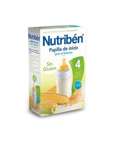 Nutribén Papilla Inicio Biberón Sin Gluten, 600g