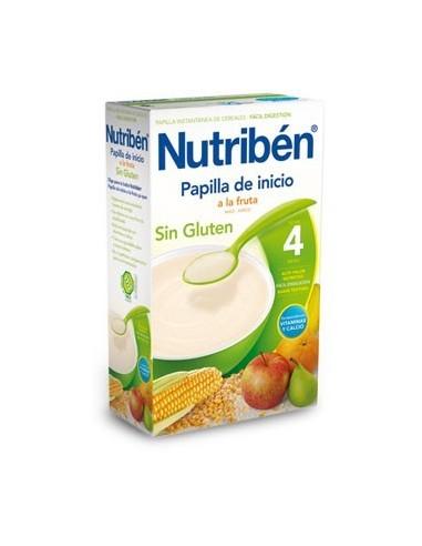 Nutribén Sin Gluten Papilla Inicio a la Fruta, 300g
