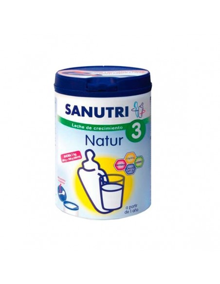 Sanutri Natur 3 Leche de crecimiento, 800g