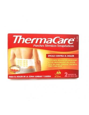 ThermaCare Parches Térmicos Terapéuticos Zona Lumbar y Cadera, 2Ud