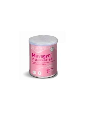 Casen Fleet Muvagyn Probiótico Tampón Vaginal Mini, 14Ud