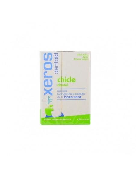 Xeros Dentaid Chicle Dental Boca Seca Sabor Manzana-Menta, 20Ud