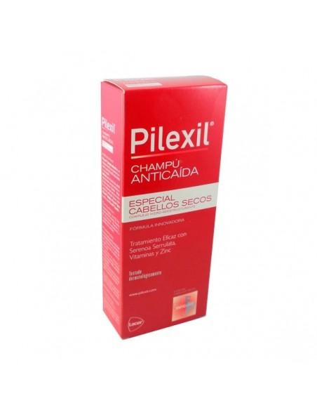 Pilexil Champú Anticaída Especial Cabellos Secos, 300ml