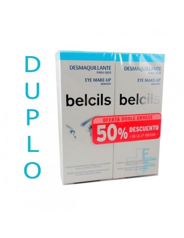 Belcils Duplo Desmaquillante para Ojos, 2x 75ml