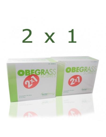 Obegrass Pack 30 sobres + Regalo Obegrass, 30 sobres
