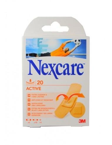 3M Nexcare Active Apósito adhesivo, 20 Ud