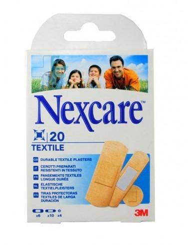 3M Nexcare Textile Apósito adhesivo, 20 Ud