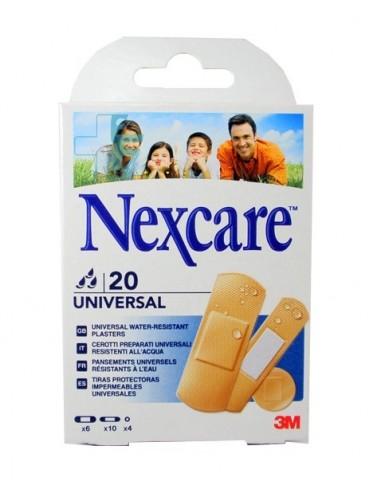 3M Nexcare Universal Apósito adhesivo, 20 Ud