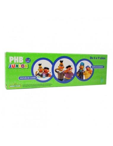 PHB Junior Pasta Dental 6-9 años Sabor Menta, 75ml