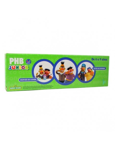 PHB Junior Pasta Dental 6-9 años Sabor Menta, 75ml