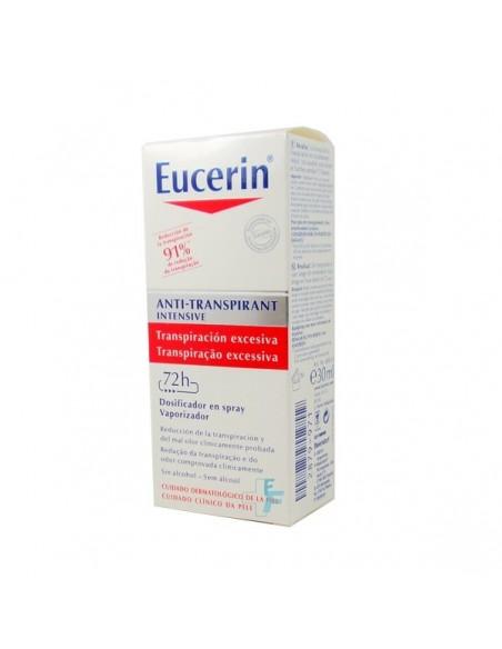 Eucerin Anti-transpirante Dosificador Spray Transpiración extrema, 30ml