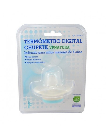 VP Natura Termómetro Digital Chupete, 1 Ud