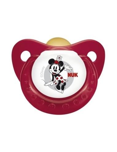 Nuk Chupete Latex  Anatómico Disney 6-18m , 1Ud