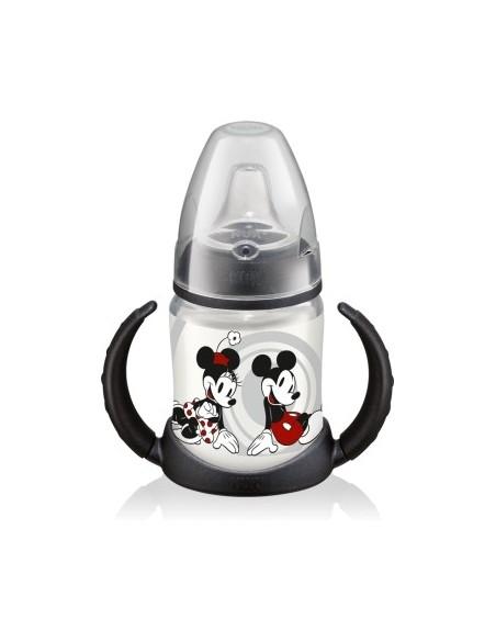 Nuk Biberón de PP First Choice Entrena Boquilla TPE +6m Mickey Mouse, 150ml
