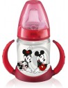 Nuk Biberón de PP First Choice Entrena Boquilla TPE +6m Mickey Mouse, 150ml