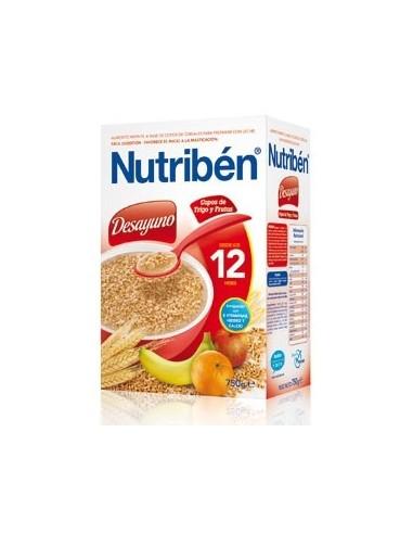 Nutribén Desayuno Copos de Trigo y Frutas +12m, 750g