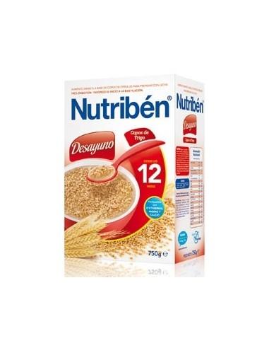 Nutribén Desayuno Copos de Trigo +12m, 750g