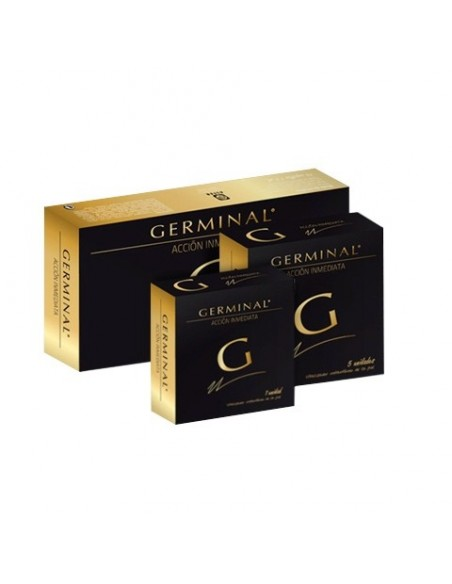 Germinal Ampollas Flash Acción inmediata, 10 ampollas x 1.5ml