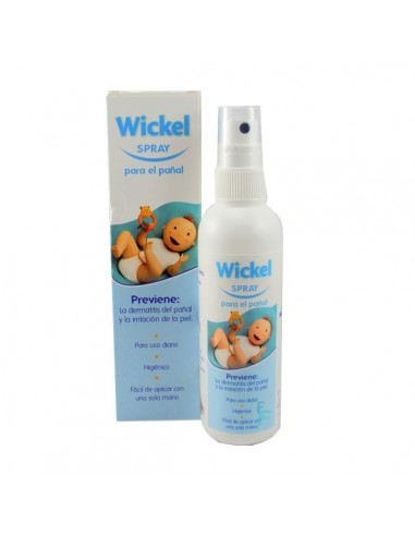 Wickel Spray Dermatitis pañal, 100ml