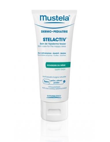 Mustela Stelactiv Crema Cuidado Epidermis Glútea, 75ml