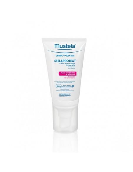 Mustela Stelaprotect Crema Facial Piel Sensible, 40ml