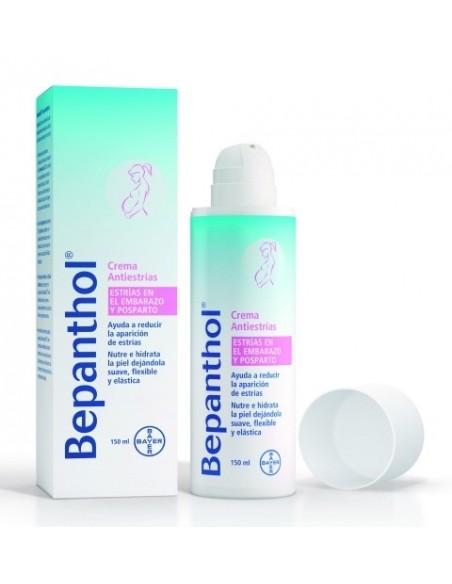 Bepanthol Crema Antiestrías Embarazo y Postparto, 150ml