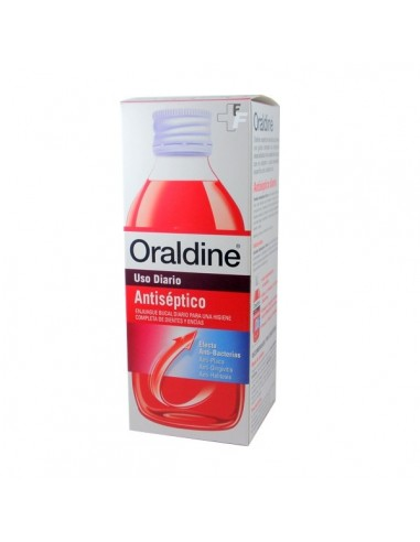 Oraldine Colutorio Antiséptico Uso Diario, 400ml