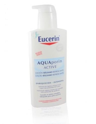 Eucerin Aquaporin Active Loción Bálsamo Refrescante Textura Enriquecida, 400ml